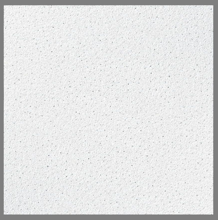 Suspended Ceiling Sandtone Texture Ceiling Tiles Flat Board 1195mm X