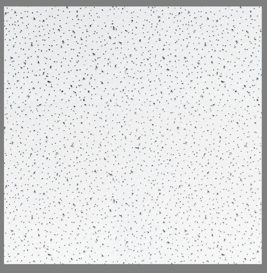 ARMSTRONG FINE FISSURED CEILING TILES BOARD 600 x 600mm SQUARE EDGE 24MM GRID
