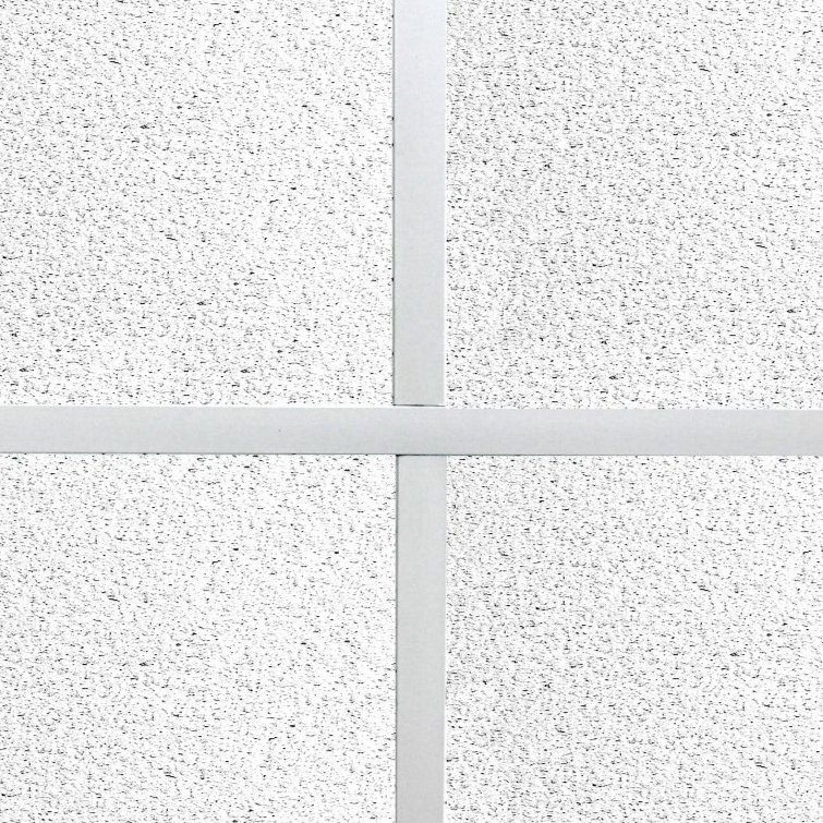 Most Popular Suspended Sandtone Surf Flat (Square Edge) Ceiling Tiles 595mm x 595mm Full Box.