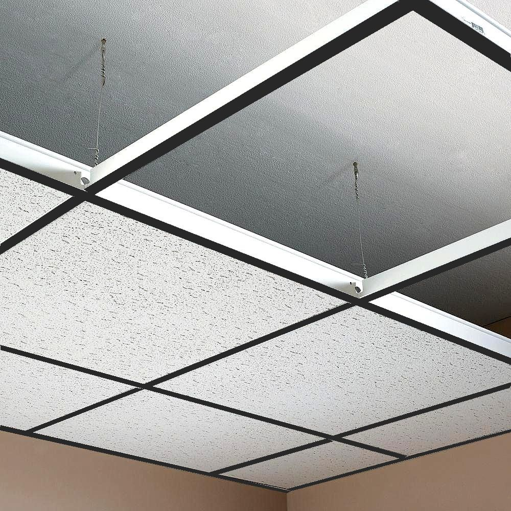 Suspended Ceiling Grid Black Color