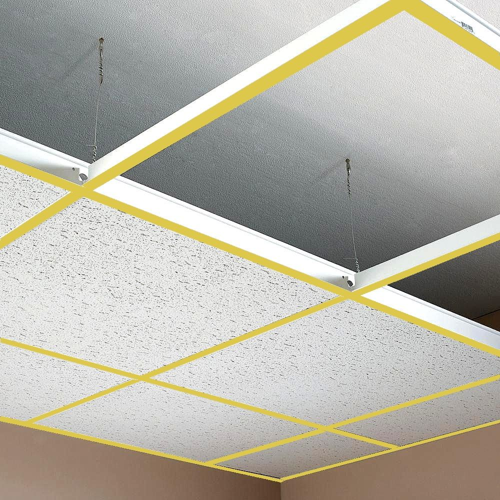 SUSPENDED CEILING GRID (GOLD COLOR)